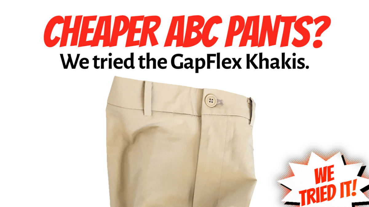 GapFit Khakis Review