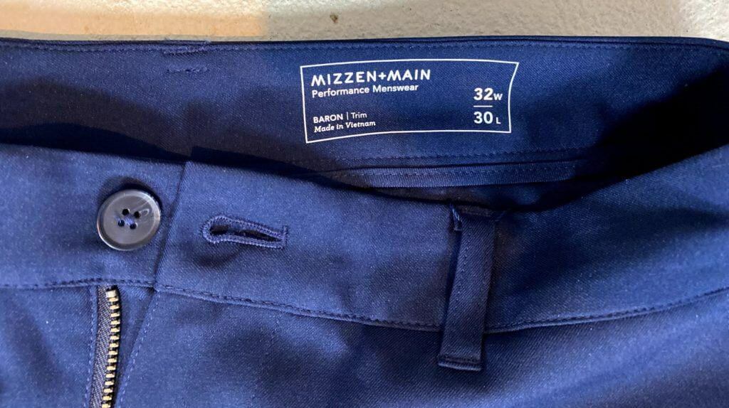 Mizzen + Main Chino Review 3