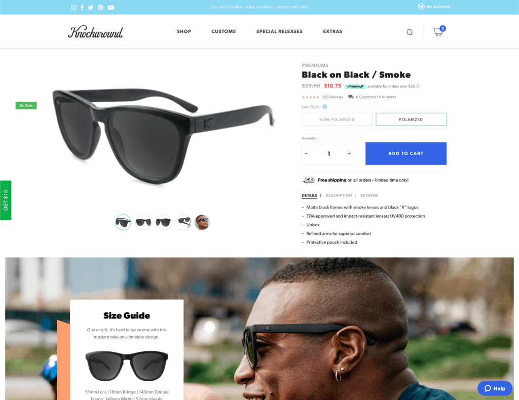 knockaround sunglasses review - what we tried