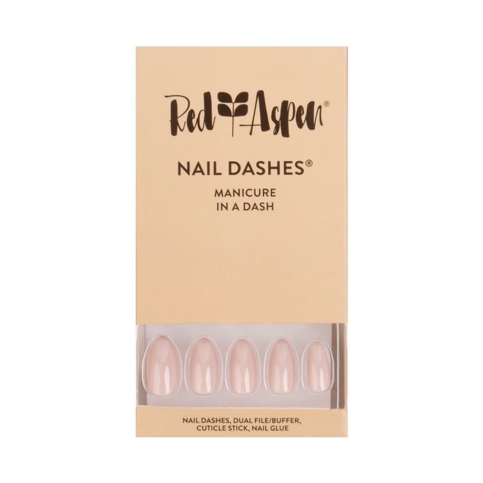 Nail Dashes Lengths - Almond