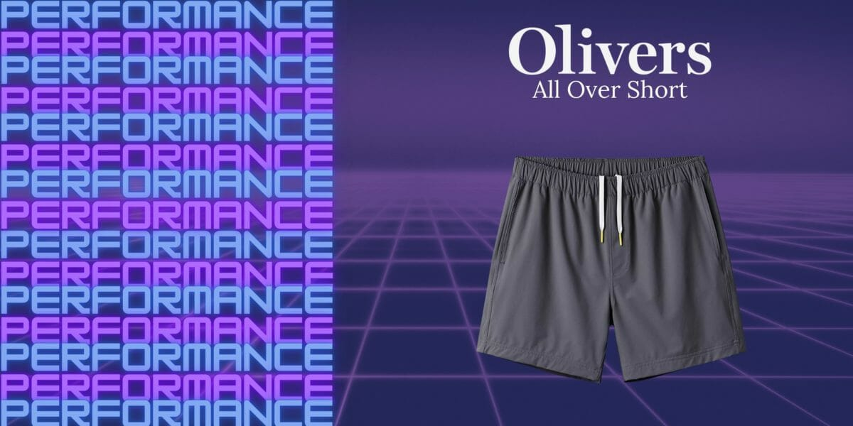 Olivers All Over Short Review: Designed with One Thing in Mind - Performance 1