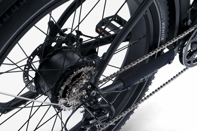 RadRover 5 Review - the motor