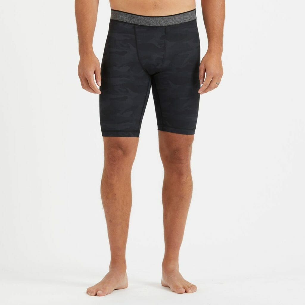 What do you wear under board shorts? 16